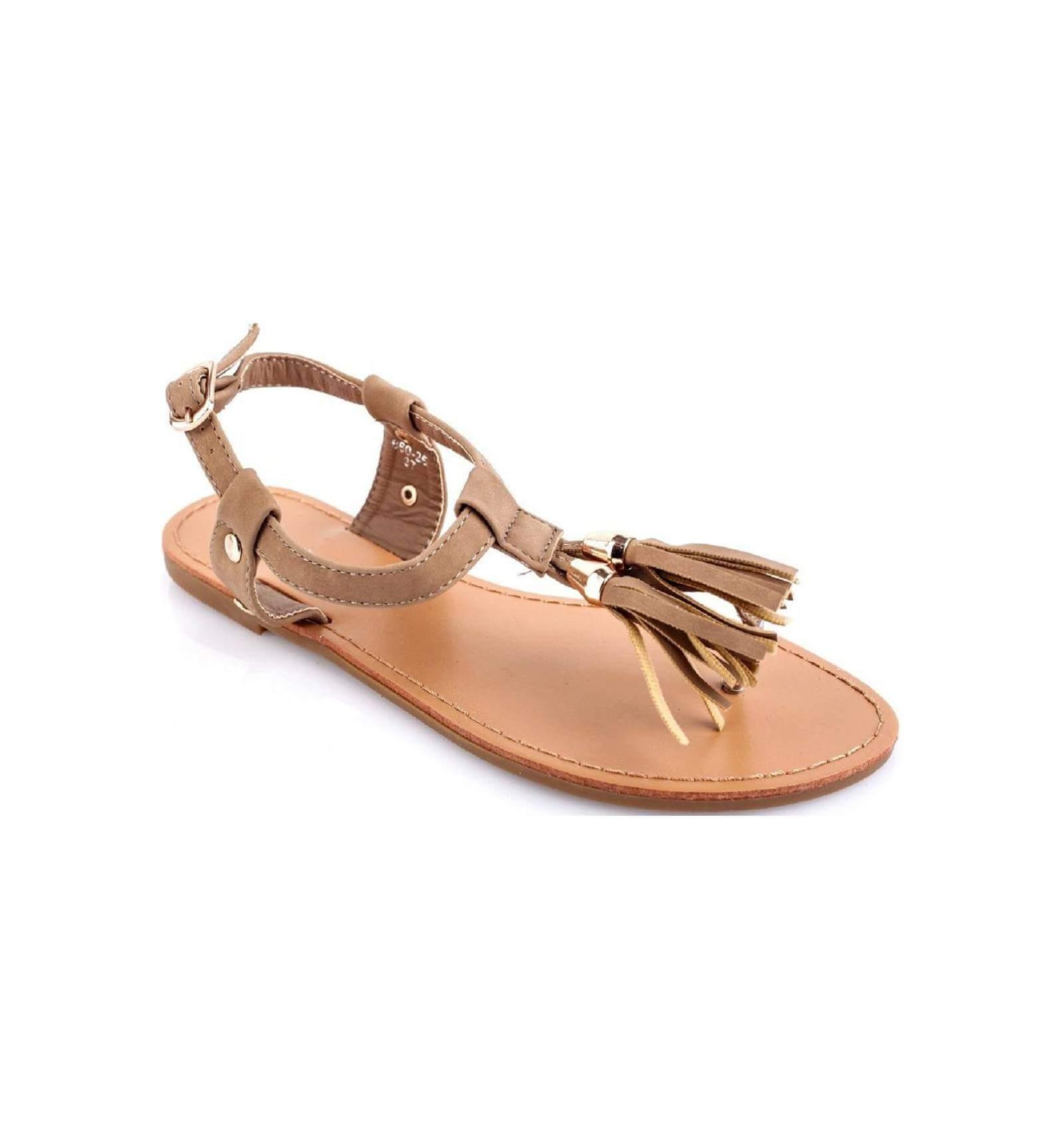 Sandale franges - Sandales originales pas cher ...