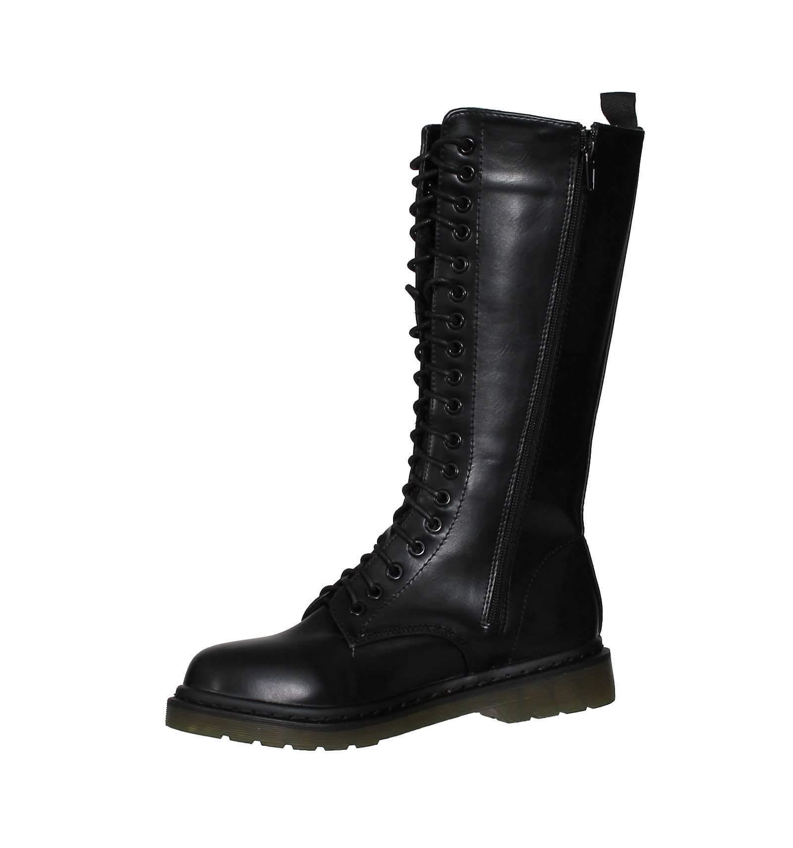 boots femme motard simili cuir noir sindy. Black Bedroom Furniture Sets. Home Design Ideas
