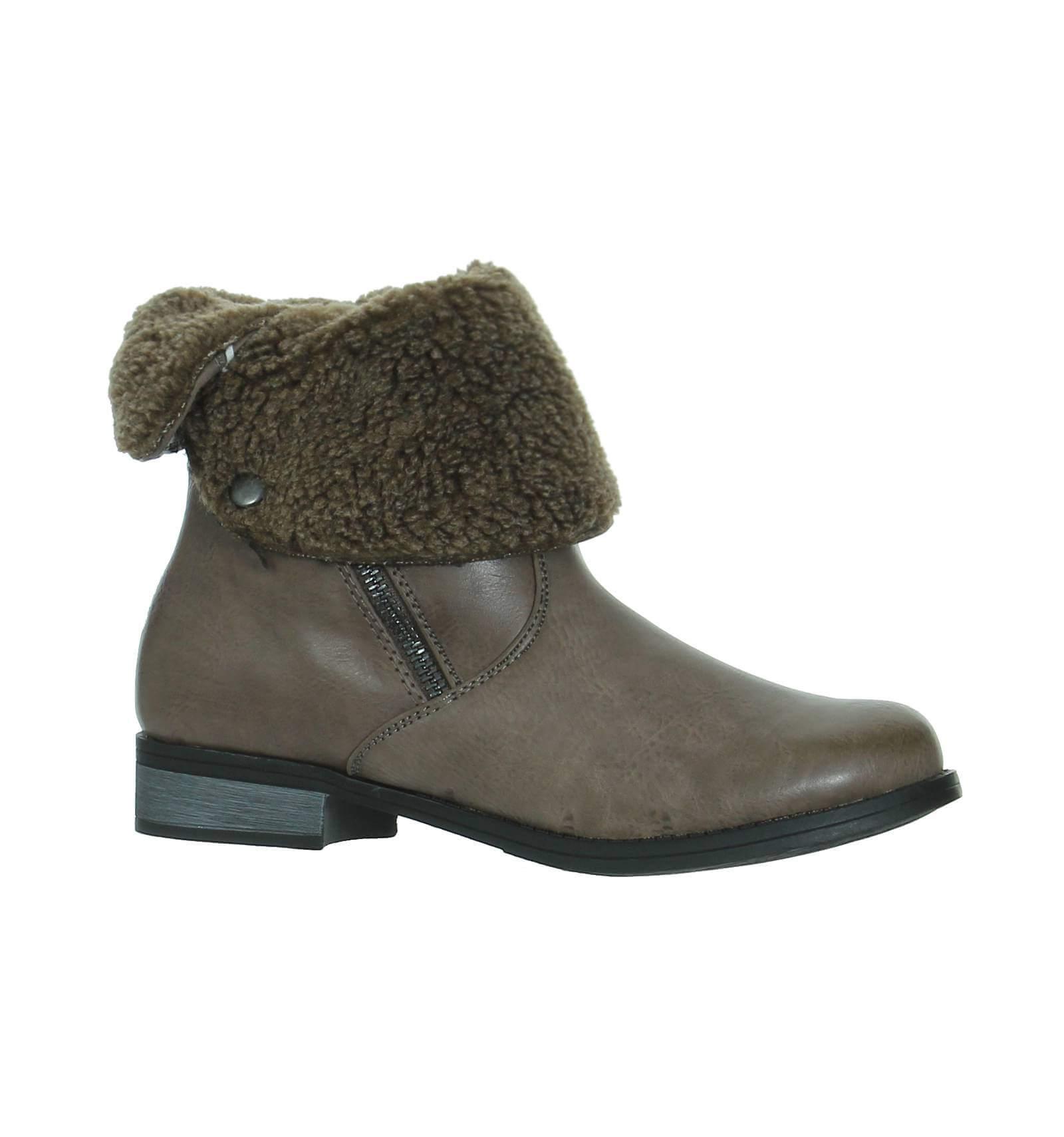 bottines femme fourr e zips noir richmond paris city shoes. Black Bedroom Furniture Sets. Home Design Ideas