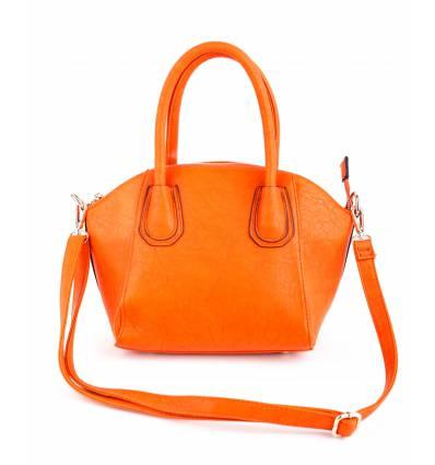 Accueil  Nos sacs  Sacs  Sac à main femme orange Adria