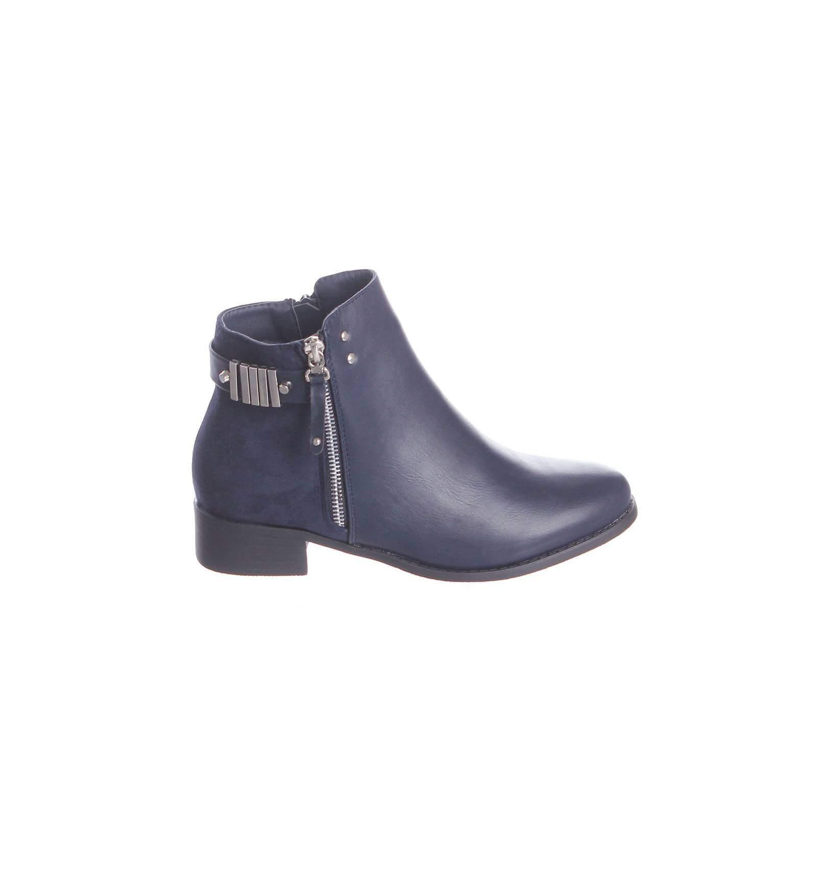 Bottines bleues femme - Boite rangement chaussures plastique ...