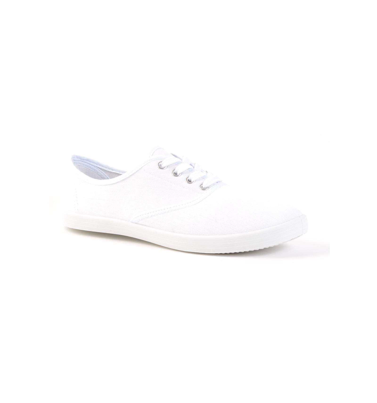 Baskets À Lacets Hilda Blanches Femme CWrdxBeo