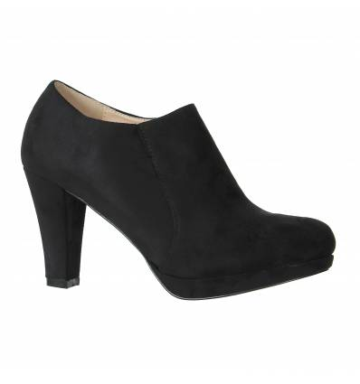 Bottines femme imperméable noir Settle