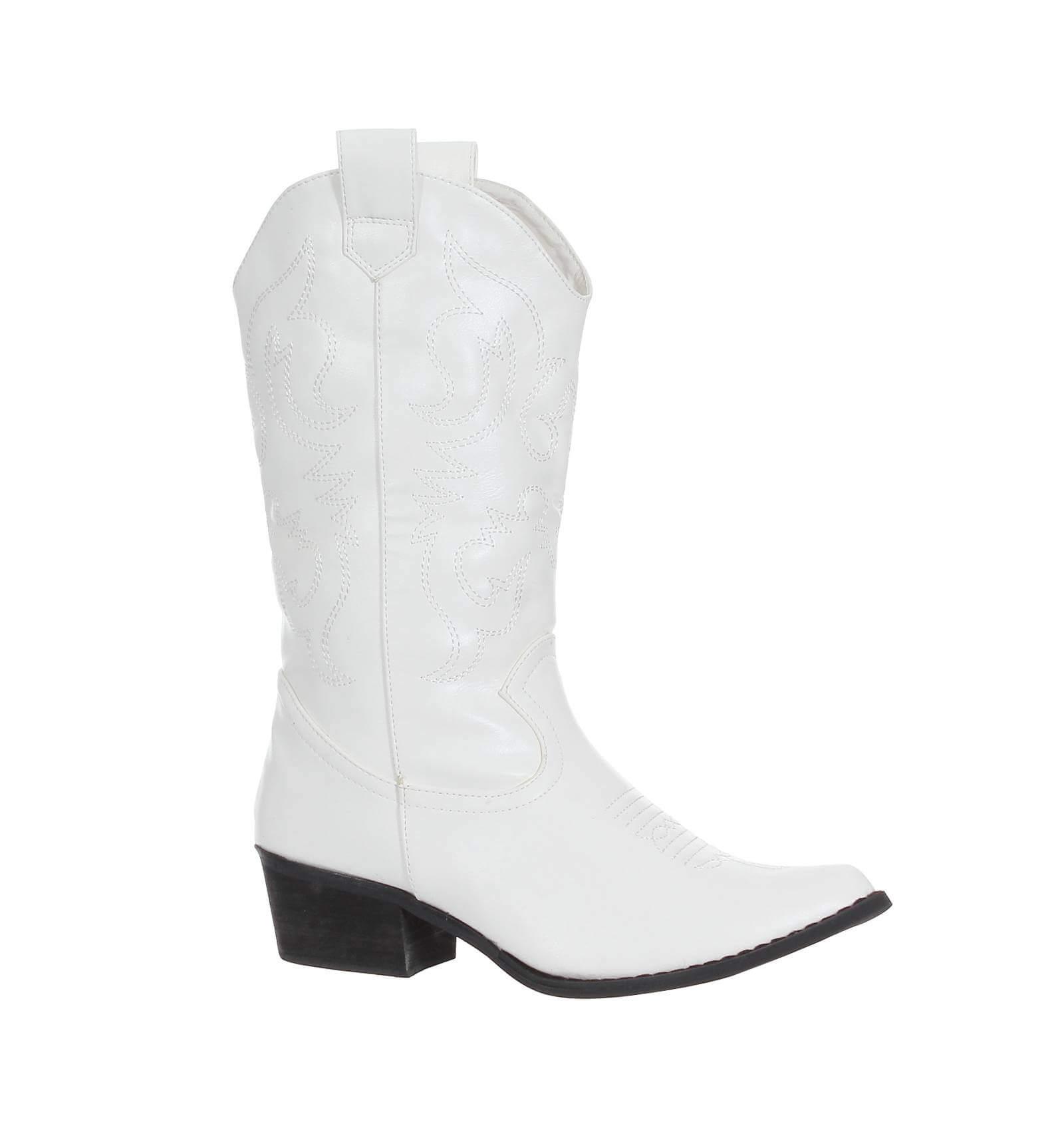 bottes hiver femme cuir de qualit brod bout pointu blanc. Black Bedroom Furniture Sets. Home Design Ideas