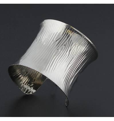 Bracelet métal argenté JERSEY
