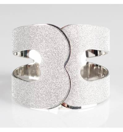 Bracelet femme métal argenté AMANDINE