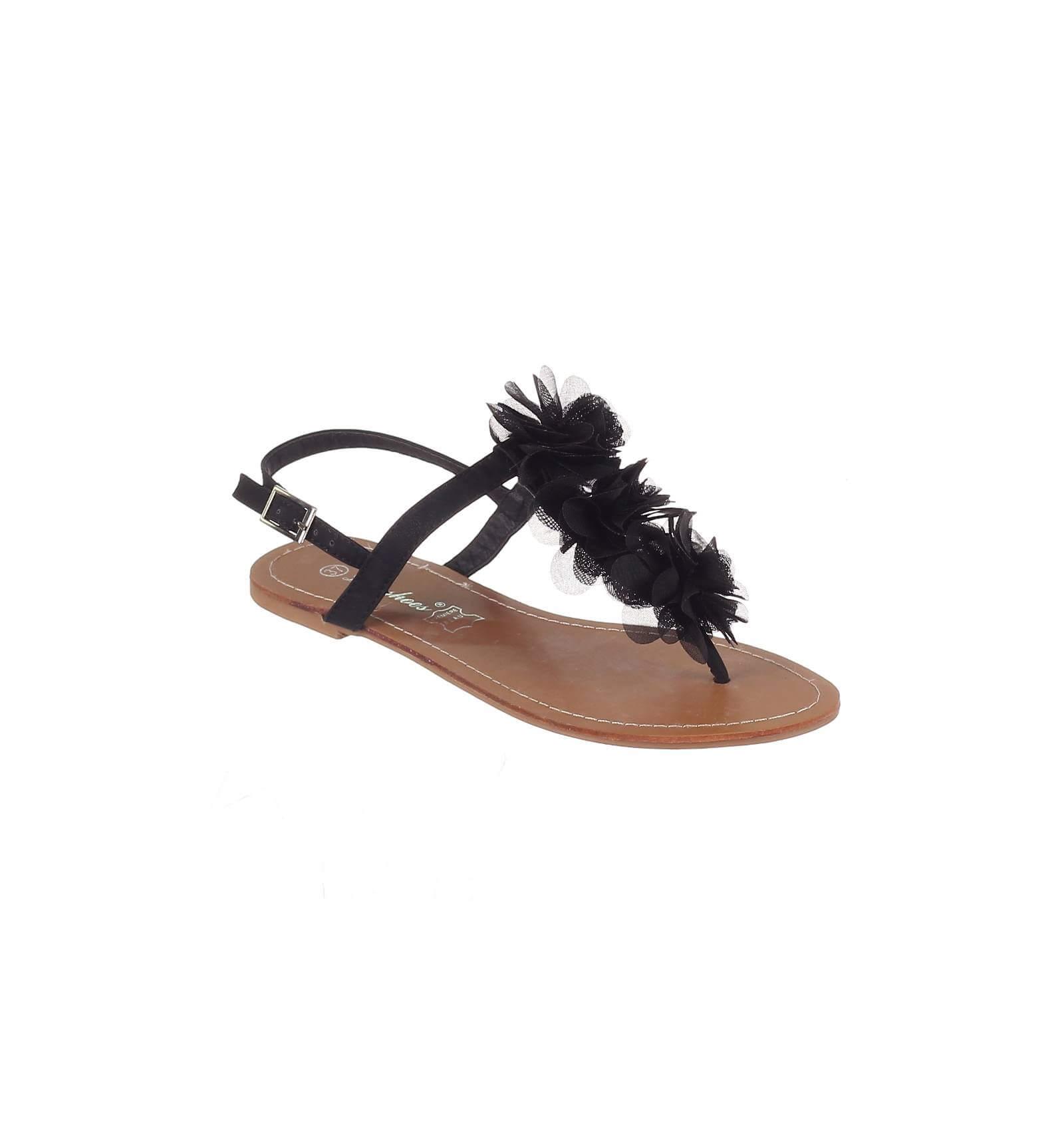 What For Sandal Femme Noir b2ay5aM