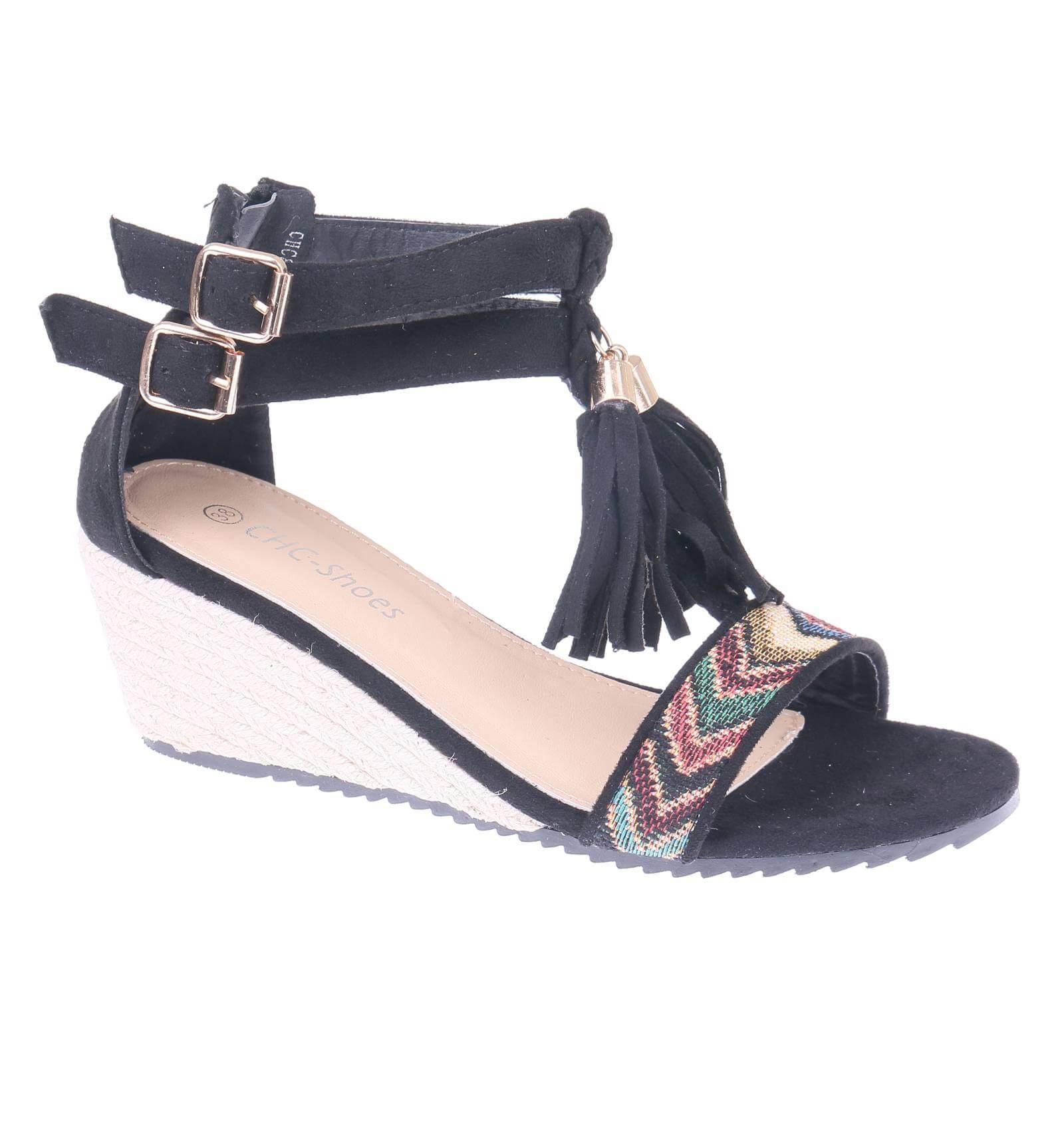 Sandales femme compensées à 5mXRC