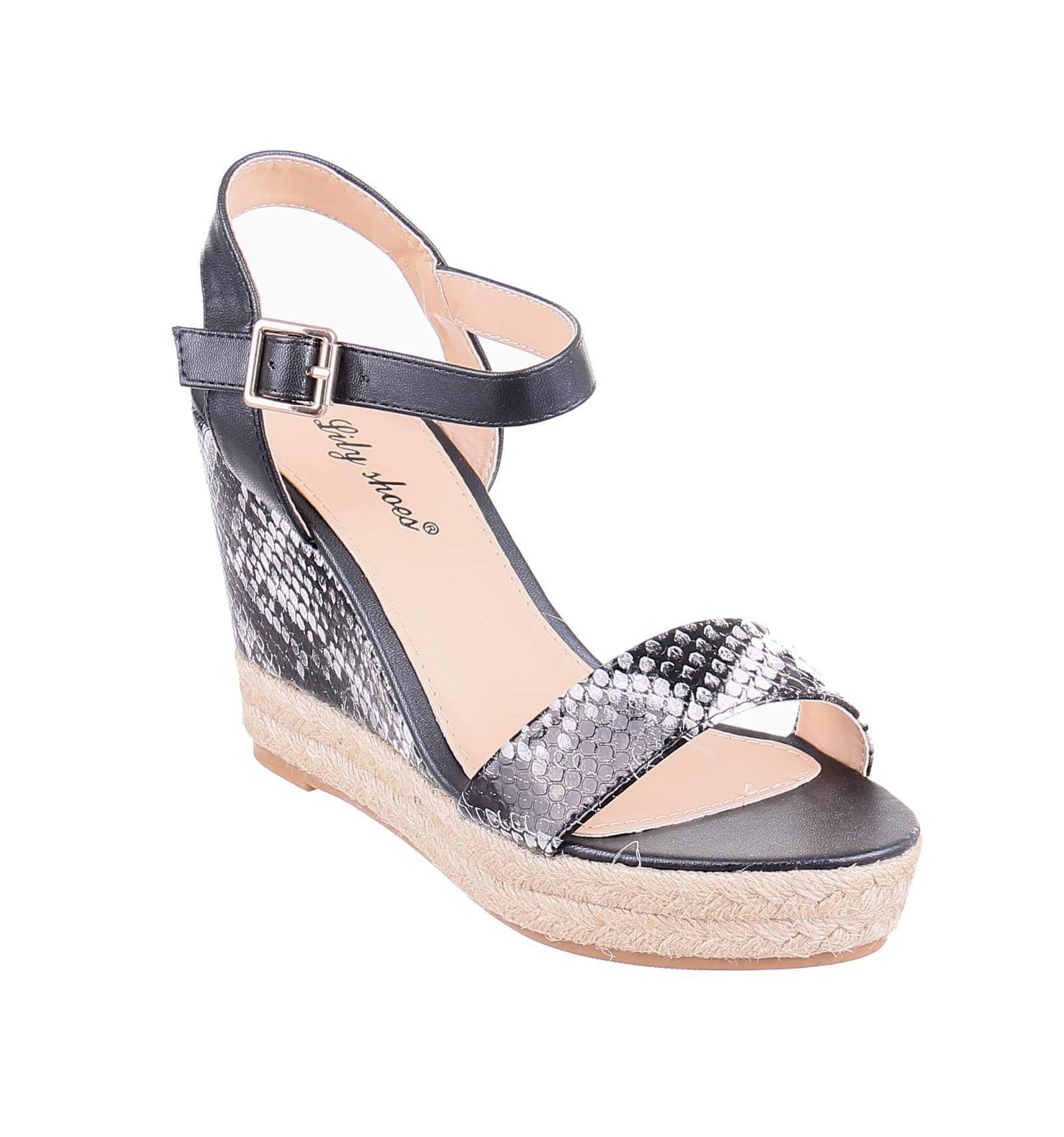 Sandales femme compensées à 1ZFJPu7N