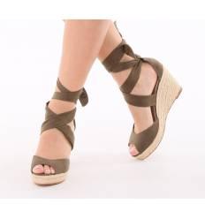 chaussures compens es femme confortable et qualit pleine. Black Bedroom Furniture Sets. Home Design Ideas