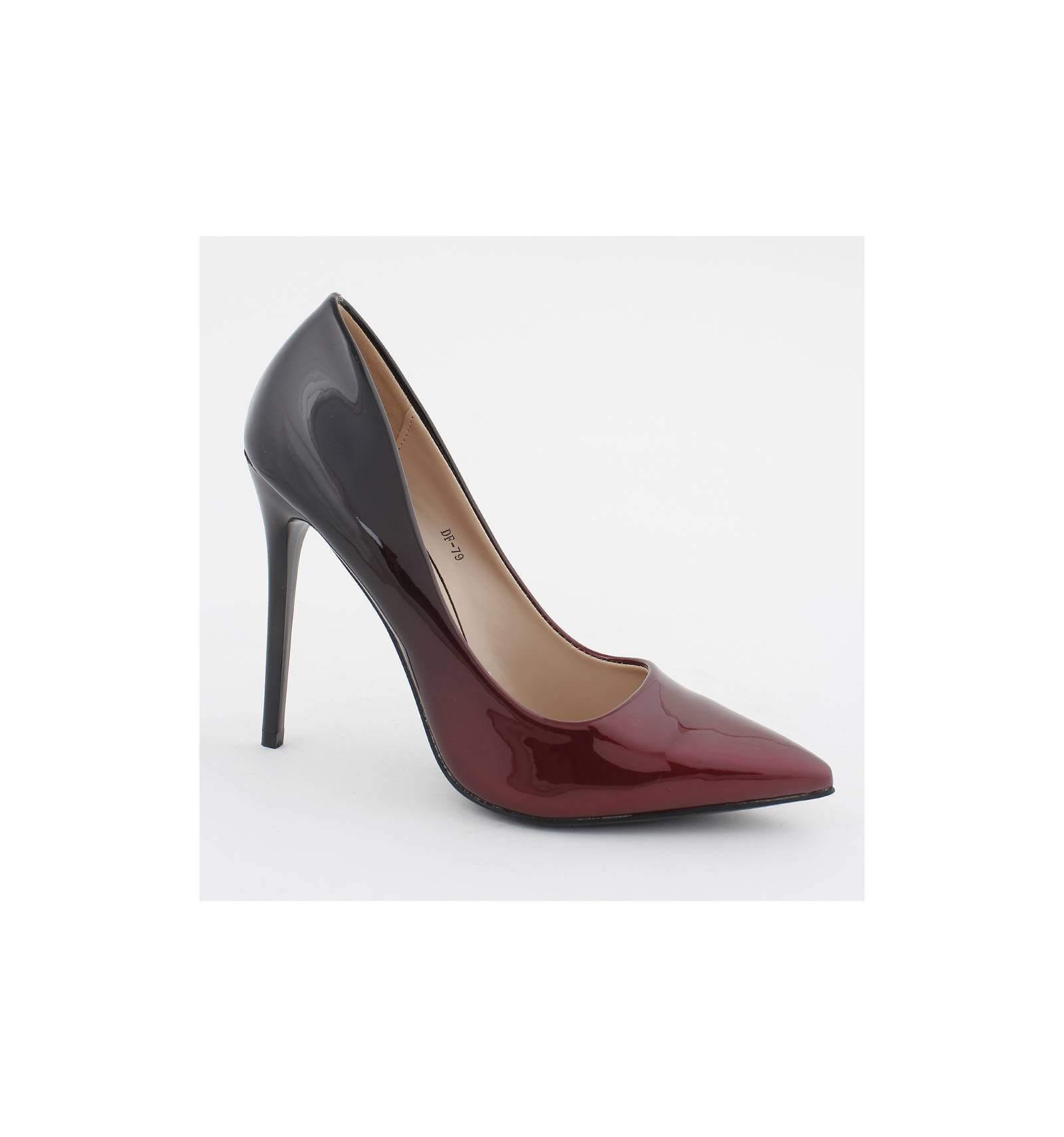 La Modeuse Escarpin classique et boucle strass rouge Rouge - Chaussures Escarpins Femme 820 €