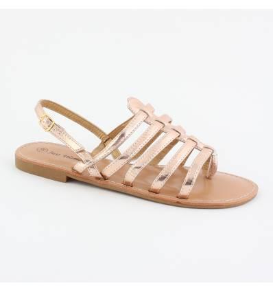 Sandales spartiates bronze CARINA