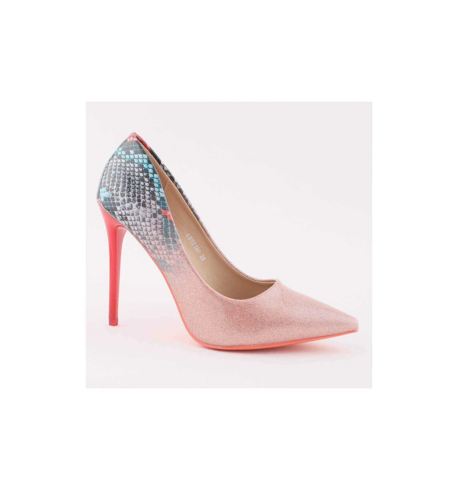 2e8c4c998e842 Chaussures de soirée pour femme talon aiguille champagne verni Sarah